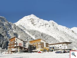 Hotel PIZ im Winter
