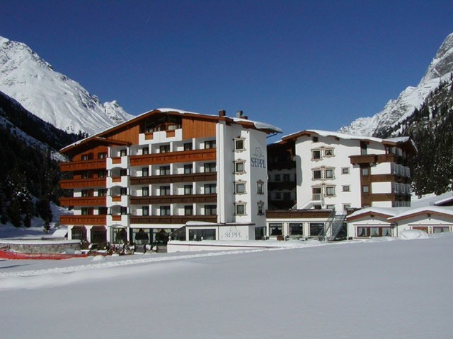 hotel seppl im winter